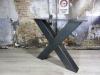 handgemaakt-industrieel-tafelonderstel-x-poot-zwaa